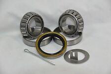 "2,000 lb.Trailer Bearing Kit L44649/10 L44649/10 Bearings 12192TB 1.25"" Seal"