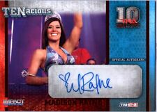 TNA Madison Rayne 2012 TENacious RED Authentic Autograph Card SN 2 of 10