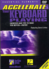 ACCELERATE YOUR PLAYING Learn How To Play Keyboard DVD LESSON LATIN CHORDS TUTOR