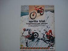 advertising Pubblicità 1981 MOTO APRILIA TRIAL 50