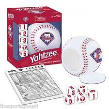 Philadelphia Phillies Travel Edition Yahtzee Game