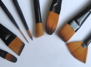 Royal Majestic Brushes - Face paint / Reborn / Art / Make Up