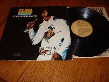 ELVIS PRESLEY PROMISED LAND ORIGINAL TAN DYNAFLEX LP ~ 1975 RCA