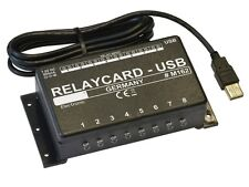 8 CHANNEL USB SWITCHING RELAY CARD, AUTOMATION CONTROL - FREE SOFTWARE - (M162)