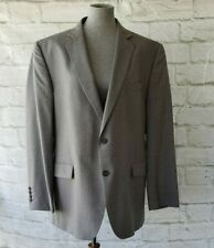 Stafford Sport Coat Tailored Classic Fit Jacket Size 46R Travel Suit Separate