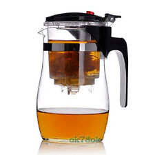 Premium New WHOLESALE New Design User friendly Glass Teapot Tea Cup 750ml
