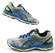Asics Gel-Nimbus 17 Running Shoes Lightning/Black/Flash US 10 SuperFeet Insoles