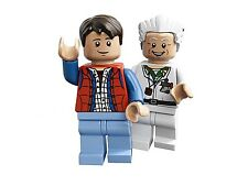 LEGO IDEAS CUUSOO BACK TO THE FUTURE MINIFIGURE MARTY MCFLY & DOC BROWN 21103