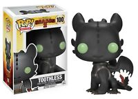 2018 Hot Funko POP! Movies How to Train Your Dragon 2 Toothless Pop Figure Toy