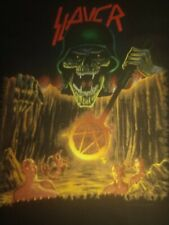Slayer European Intervention Xtra Large Pre-Owned T-shirt Sold As Is