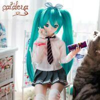 1/3 1/4 1/6 Hatsune Miku Twin Tail BJD wig for dolls new anime style dollfie