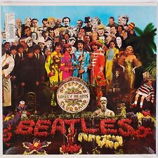 THE BEATLES: Sgt Peppers Lonely Hearts Club Band SEALED Capitol C1-46442 80s LP