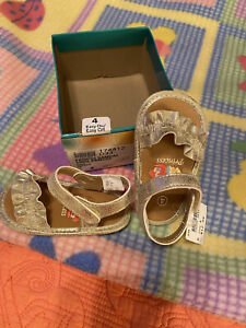 Disney Baby Princess Sandal Gold Dorado