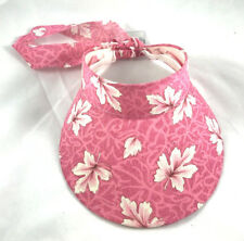 Damen Sonnenschild Schildmütze Schirmmütze Kappe Sonnenschutz Sonnenhut rosa