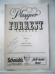 SOMETHING ABOUT A SOLDIER Playbill SAL MINEO / KEVIN McCARTHY Tryout FLOP 1961