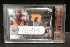 2005/06 SPX ANDREW BYNUM ROOKIE JERSEY AUTO AUTOGRAPH BGS 9.5 RC /1499 CARD #132