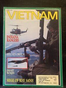Vietnam Magazine June 1990 Indiana Rangers