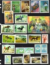 Uzbekistan - 2000/05 x 265 different stamps, nice collection, Mint Hinged (64J)