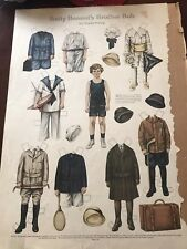Vtg Betty Bonnets Brother Bob Paper Doll By Sheila Young Uncut