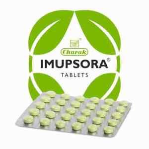 Charak IMUPSORA 30 Tablets   Ayurveda   Herbal   Free Shipping