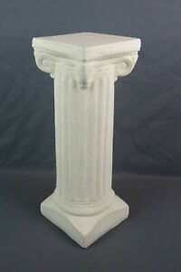 Vintage Mid Century Greek Style Column Pillar Pedestal Plant Stand Made Mexico