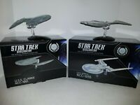 Star Trek USS Clarke and USS Kerala by Eaglemoss