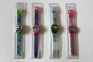 Disney 1990's Plastic Watches Buzz Lightyear Sleeping Beauty Marie Jungle Book