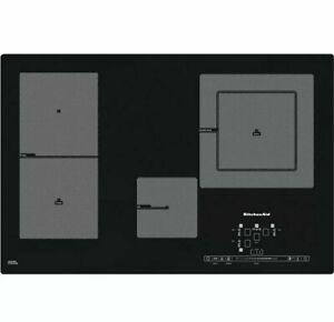 KitchenAid KHIP4 77511 4-Zonen Piano Cottura a Induzione Funzione Grill Autark