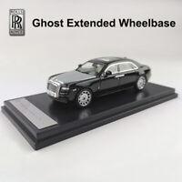 Original Diecast Car Model Rolls-Royce Ghost Extended Wheelbase 1:64 Scale Black