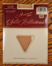 Hanes Silk Reflections Pantyhose Pink Champagne size AB Silky Sheer Control Top