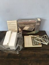 NOS Vintage 1980s 104 Number Telephone Memory Dialer Radio Shack DuoFone 121
