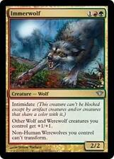 IMMERWOLF Dark Ascension MTG Gold Creature—Wolf Unc Werewolf