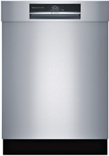 """Bosch 800 Series 24"""" Shem78Wh5N Semi-Integrated Dishwasher w Home Connect SxS"""