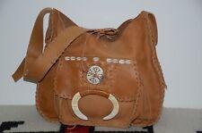Ralph Lauren Collection Purple Label Western Style Leather Crossbody Bag