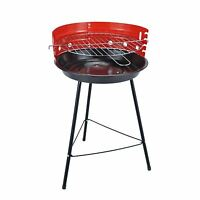 Charcoal BBQ 36cm Portable Round Grill Barbecue Picnic Camping Garden Party New