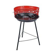 CARBONELLA BBQ 36cm Portatile Rotonda Grill Barbecue Picnic Campeggio Giardino Party Nuovo