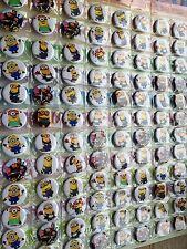 MINION Mi Villano Favorito 10 botones insignias Botín Fiesta De Cumpleaños Bolsa Relleno Libre P&P