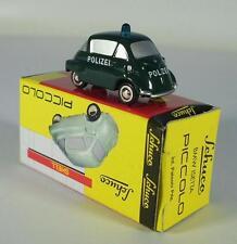Schuco Piccolo 1/90 No.01593 BMW Isetta Polizei OVP #1142