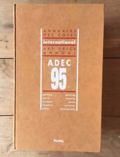 ADEC 1995 Art Price Annual International Reference Book Bordos
