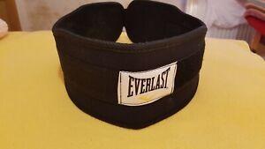 Everlast Weight Lifting Belt Adult New