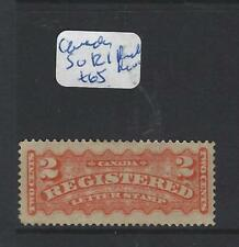 CANADA (P1206B) REGISTER STAMP 2C  SG R1 FULL MOG  EXTREMELY FRESH