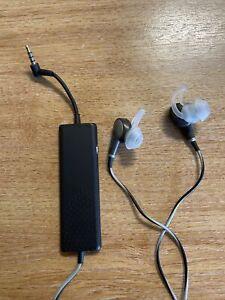 Bose QuietComfort 20i In-Ear Only Headphones - Black/brown