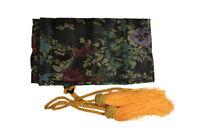 Black Sword Bag With Gold Tassels