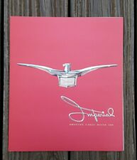 Original 1957 Chrysler Imperial Car Sales Brochure Catalog