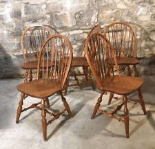 1900-1950 Antiques Generous Antique Childs Windsor Rocking Chair-excellent Condition