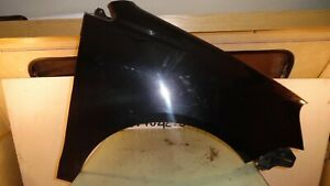 VW POLO GT TDI 9NR 2008 DRIVERS SIDE FRONT WING - BLACK MAGIC - LCNZ