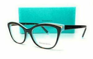 TIFFANY TF2192 8134 Havana Demo Lens Women's Eyeglasses 52 mm