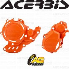 Acerbis X-Power Orange 016 Clutch & Ignition Cover Kit For KTM Freeride 4T 2019