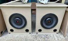 x2 Altec Lansing Model 9820-8A Duplex Speaker System Free Shipping