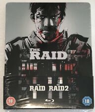 The Raid 1 And 2 Steelbook - UK Exclusive Limited Edition Blu-Ray **Region B**